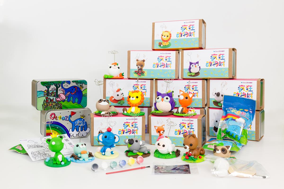 丰富多元创作主题 让您的孩子自由选择快乐玩创意